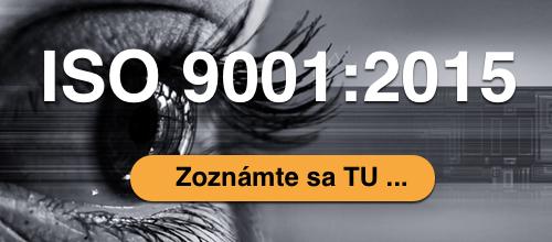 ISO 9001:2015 Zoznamte sa