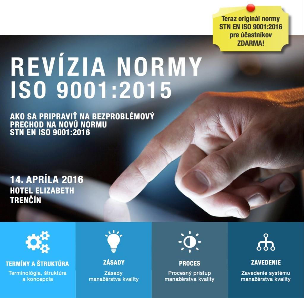Seminar ISO 9001:2015 14.04.2016